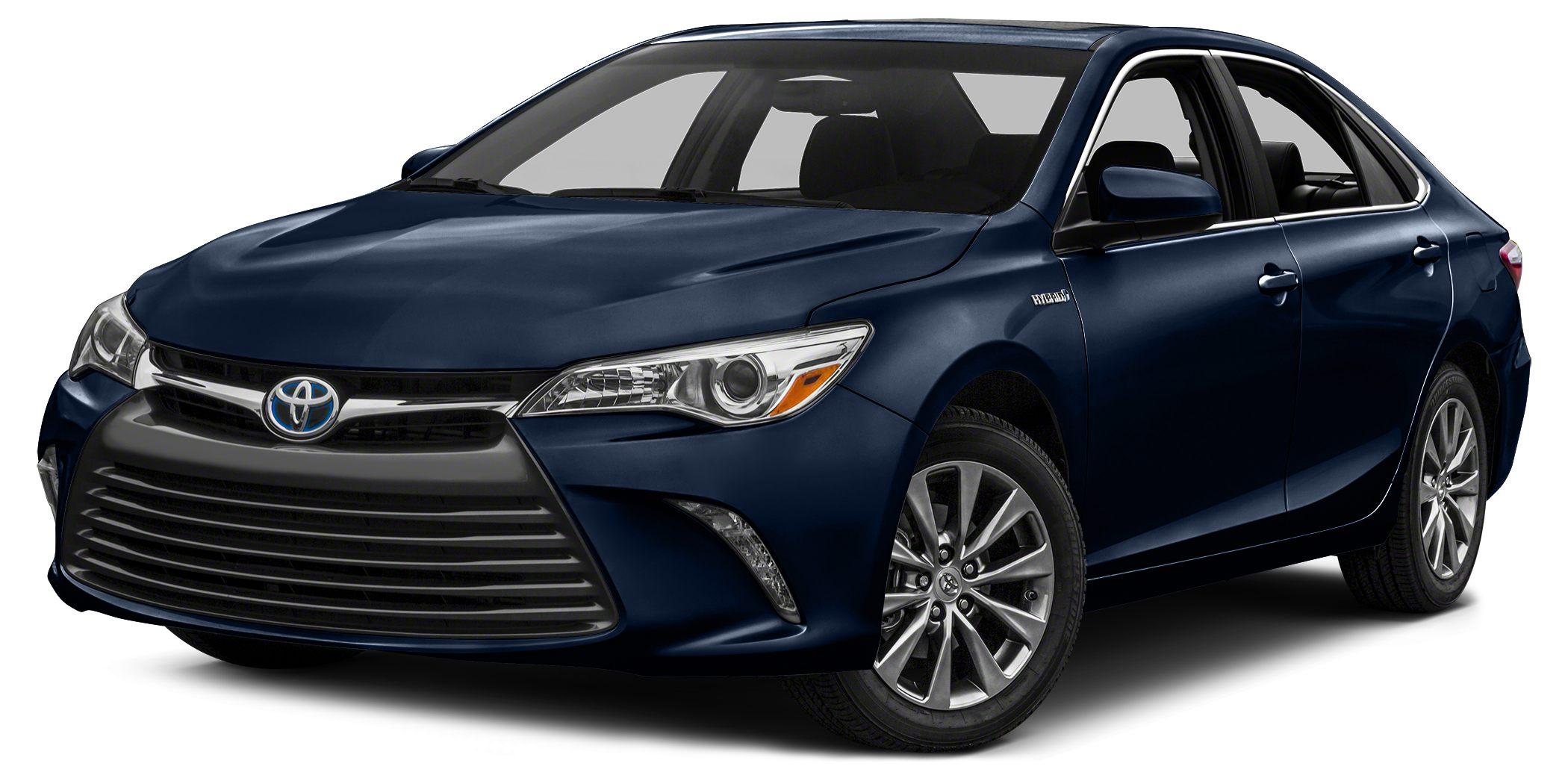 2017 Toyota Camry Hybrid XLE Heated Leather Seats Keyless Start Dual Zone AC Hybrid Aluminum