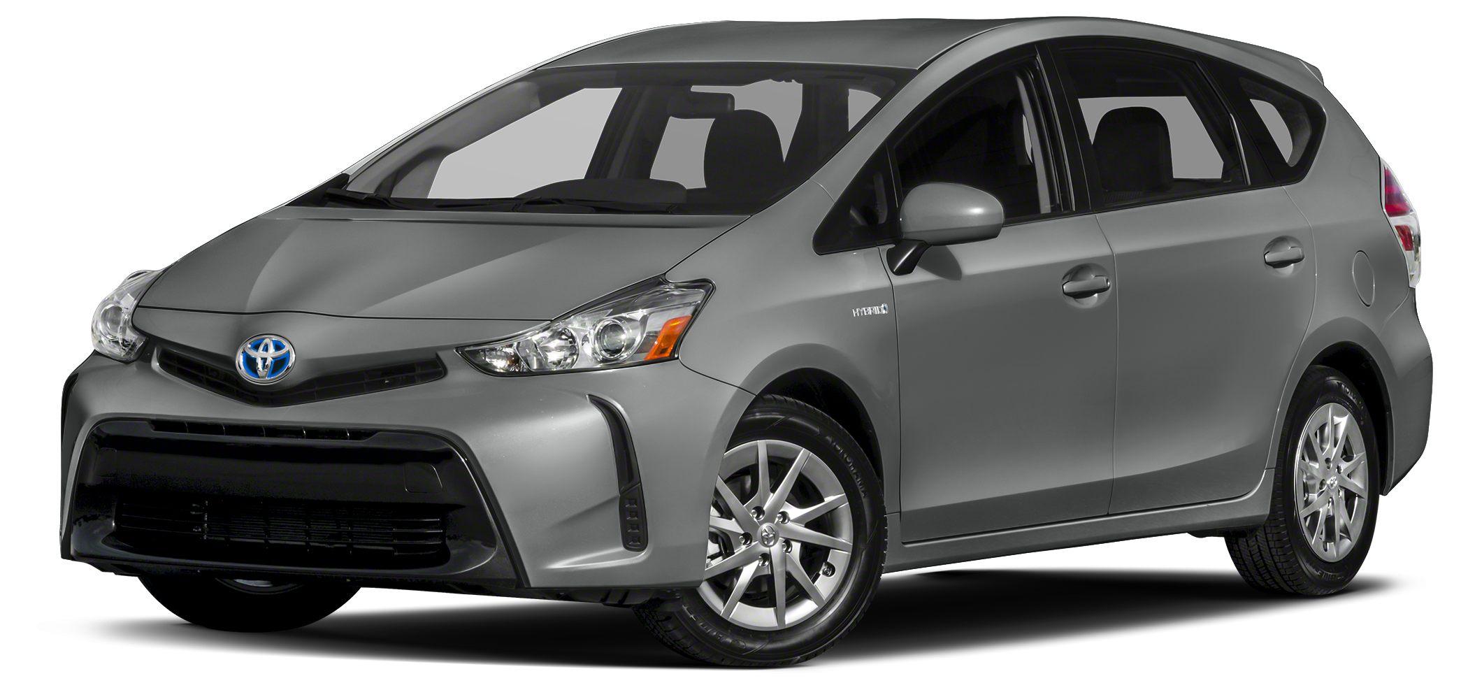 2015 Toyota Prius v Three Nav System Bluetooth CD Player Back-Up Camera Aluminum Wheels Head A