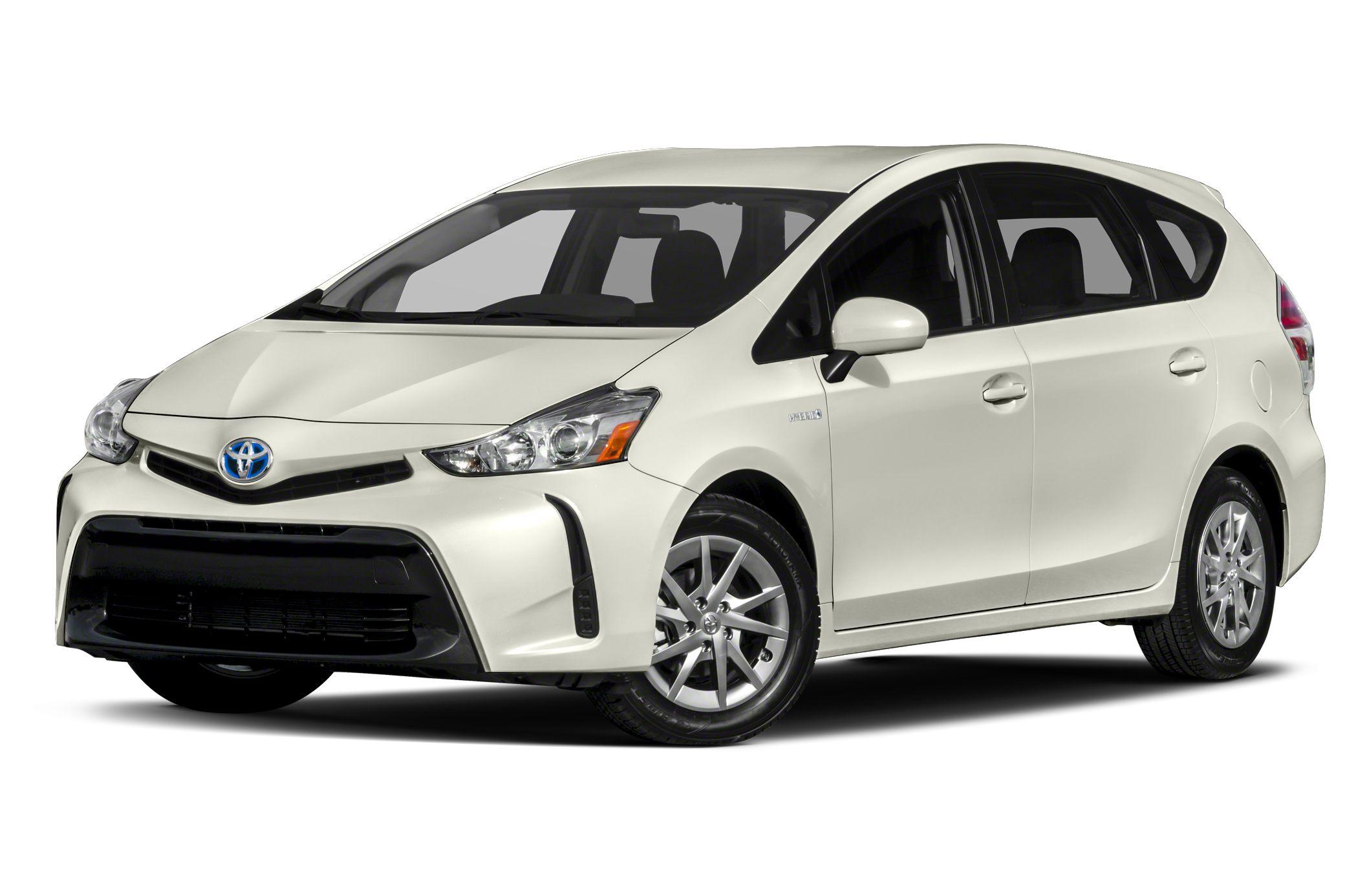 2015 Toyota Prius v Three Navigation Bluetooth CD Player Back-Up Camera Aluminum Wheels Head A