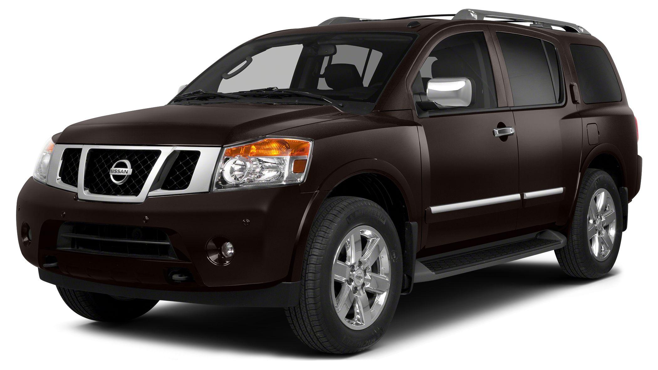 2013 Nissan Armada Platinum Miles 41812Color Espresso Black Stock 216071A VIN 5N1BA0NF4DN612
