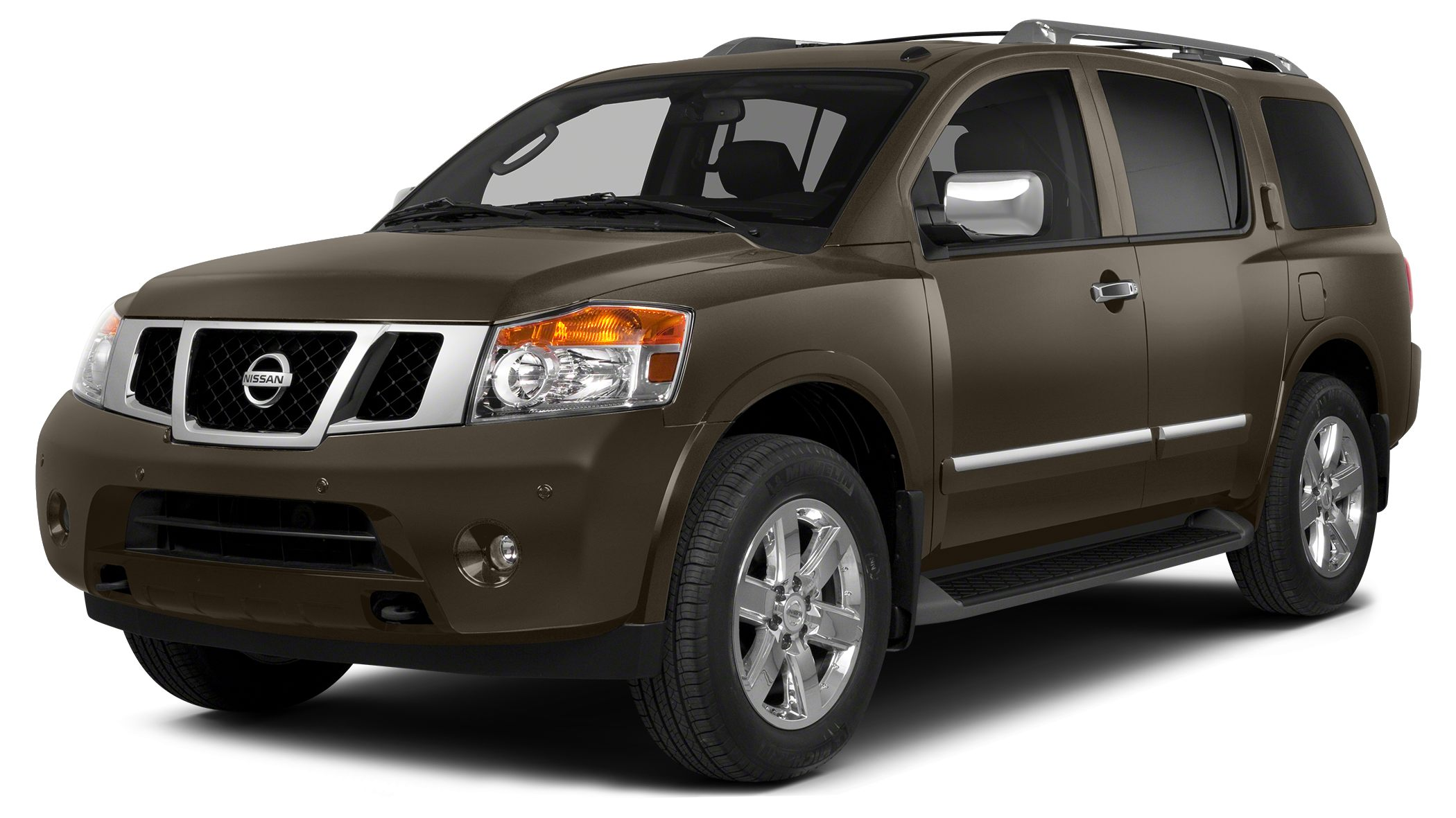 2015 Nissan Armada Platinum This Bronze 2015 Nissan Armada Platinum might be just the SUV for you