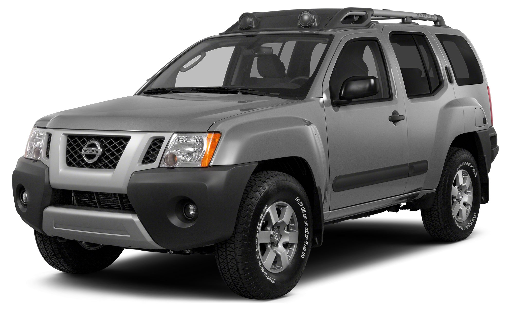 2014 Nissan Xterra X Miles 41872Color Brilliant Silver Stock P7041 VIN 5N1AN0NW3EN810604