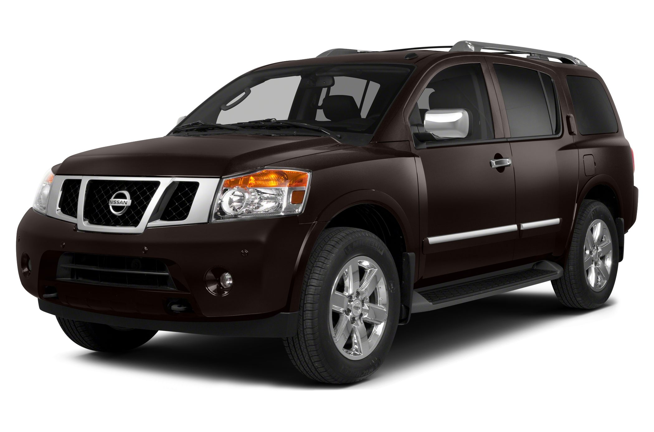 2014 Nissan Armada SL Built on a muscular and fully boxed steel frame thats capable of handling ex