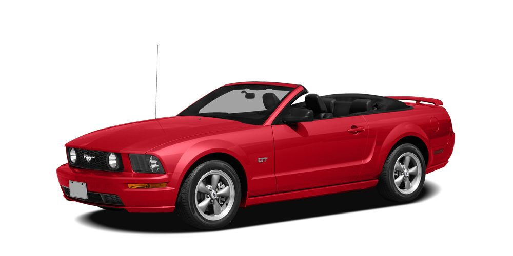 2008 Ford Mustang V6 Deluxe CONVERTIBLE ALLOY WHEELS CRUISE CONTROL CD PLAYER AC Miles 63703Col