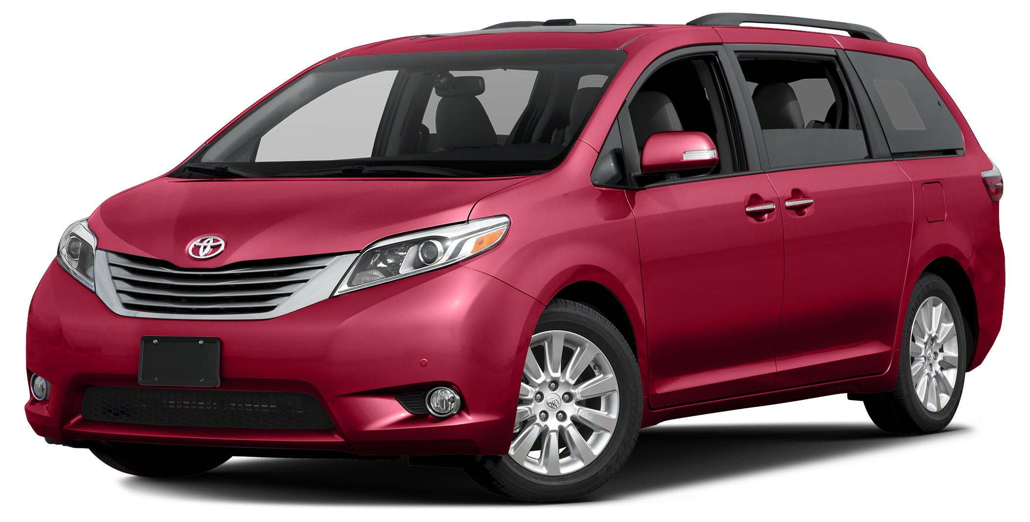 2017 Toyota Sienna Limited Premium 7 Passenger Heated Leather Seats NAV DVD 3rd Row Seat Sunro