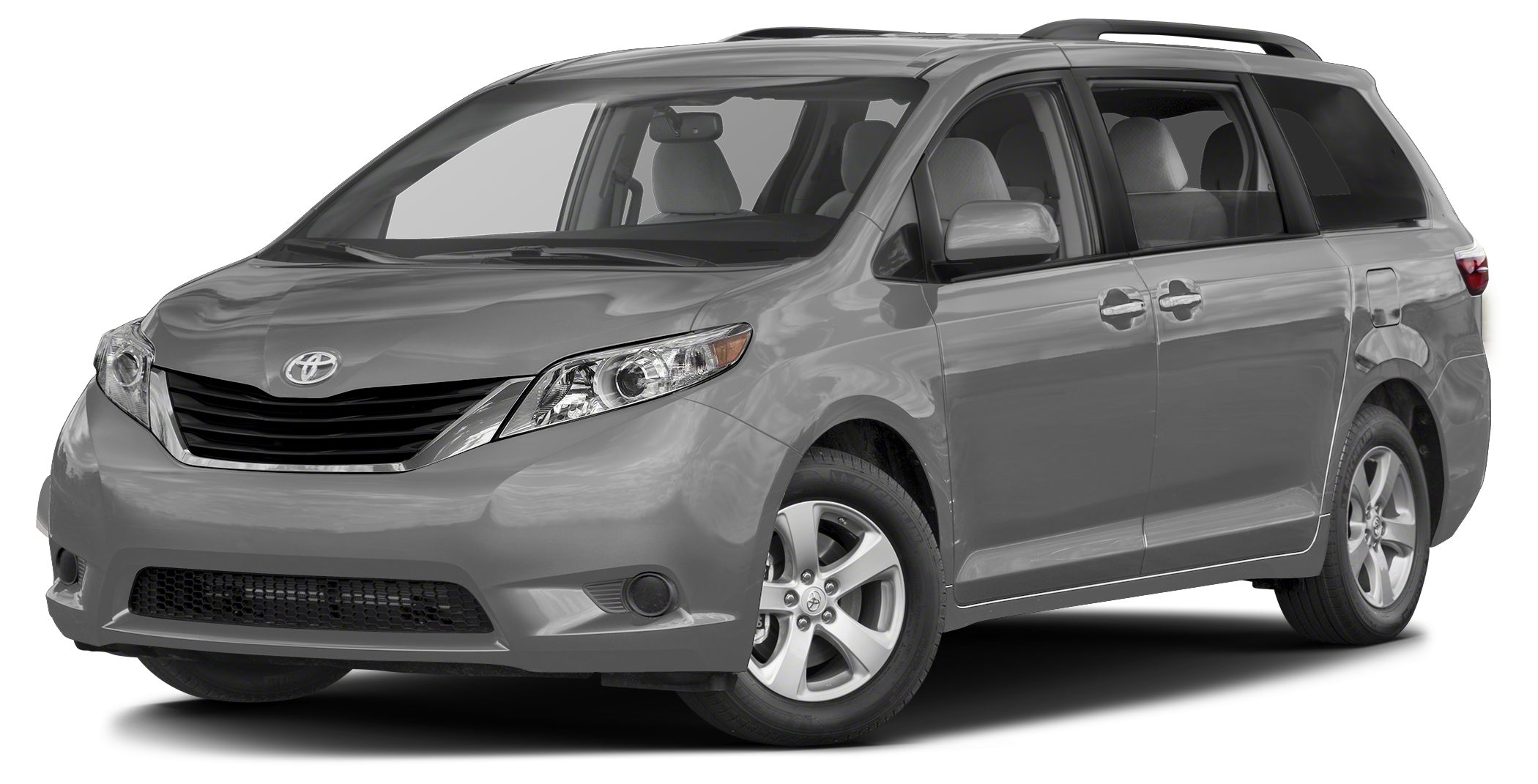 2017 Toyota Sienna LE 8 Passenger 3rd Row Seat CD Player Dual Zone AC Power Fourth Passenger D