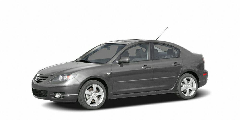 2005 Mazda MAZDA3 s Miles 167633Color Titanium Gray Metallic Stock SB15636B VIN JM1BK3238513