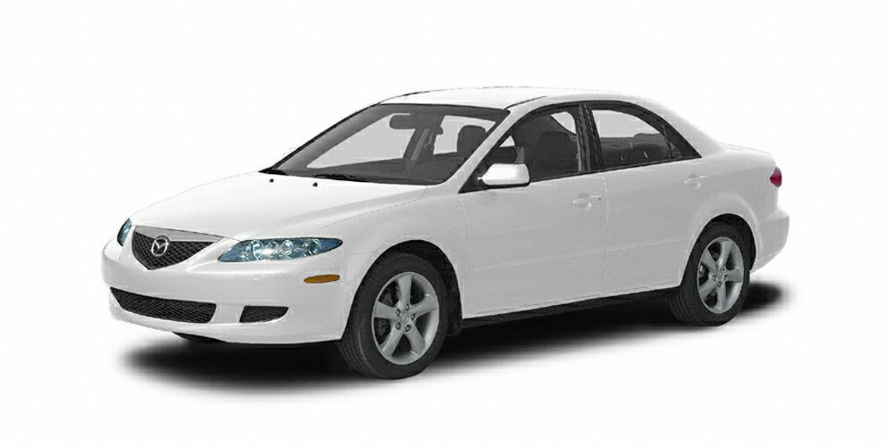 2005 Mazda MAZDA6 s Sport Miles 146000Color Performance White Stock R3079A VIN 1YVHP80D455M2