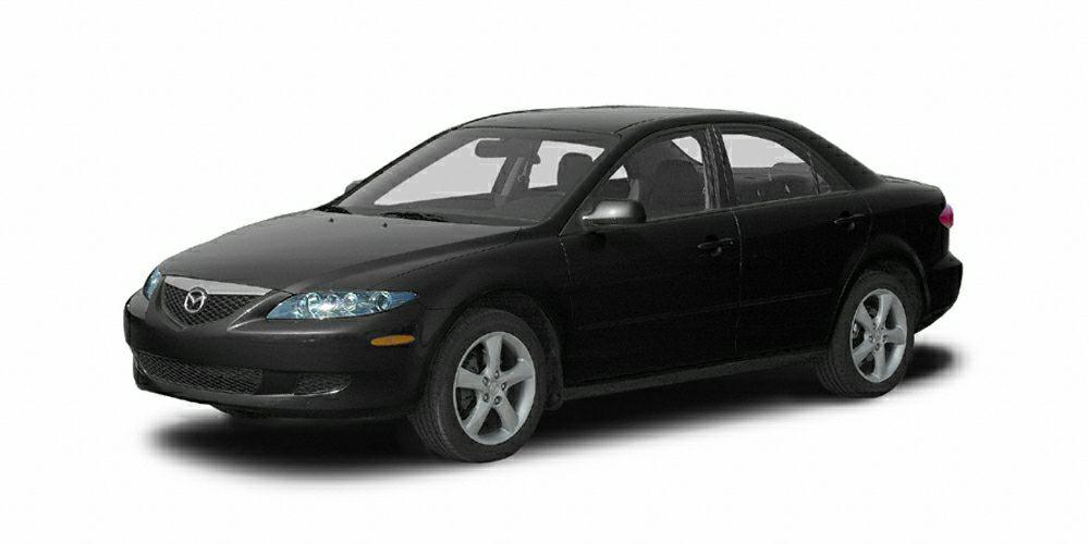 2005 Mazda MAZDA6 i Sport Miles 105500Color Onyx Black Stock 190361 VIN 1YVHP80C255M32469
