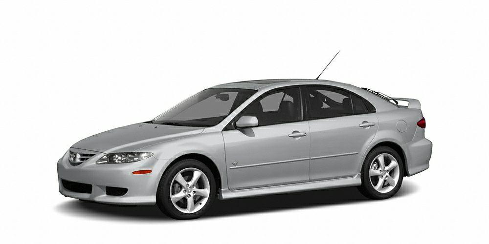 2005 Mazda MAZDA6 s Sport Color Glacier Silver Metallic Stock K14460A VIN 1YVHP84D555M13000