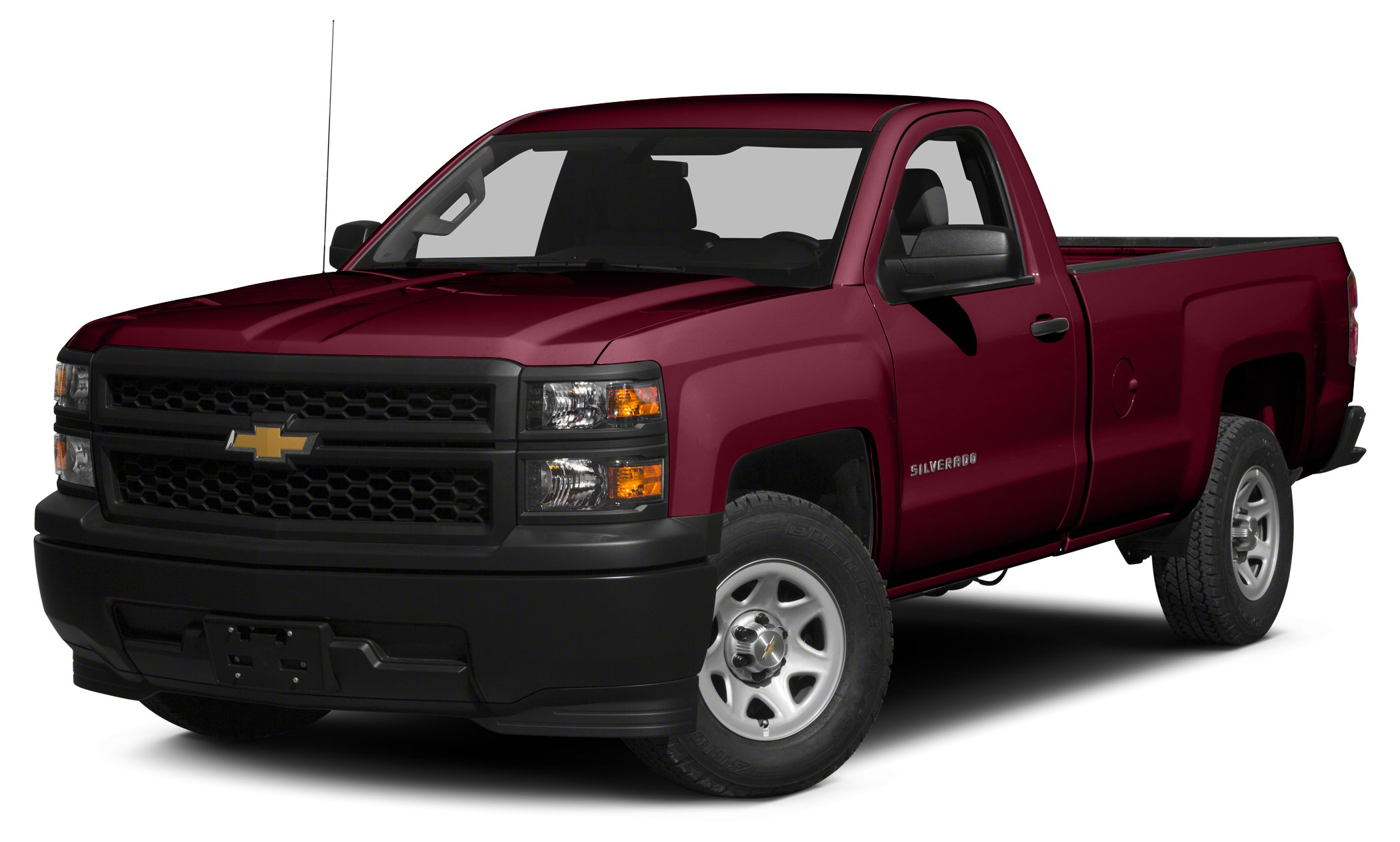 2015 Chevrolet Silverado 1500 WT CARFAX 1-Owner ONLY 25942 Miles EPA 24 MPG Hwy18 MPG City Wo