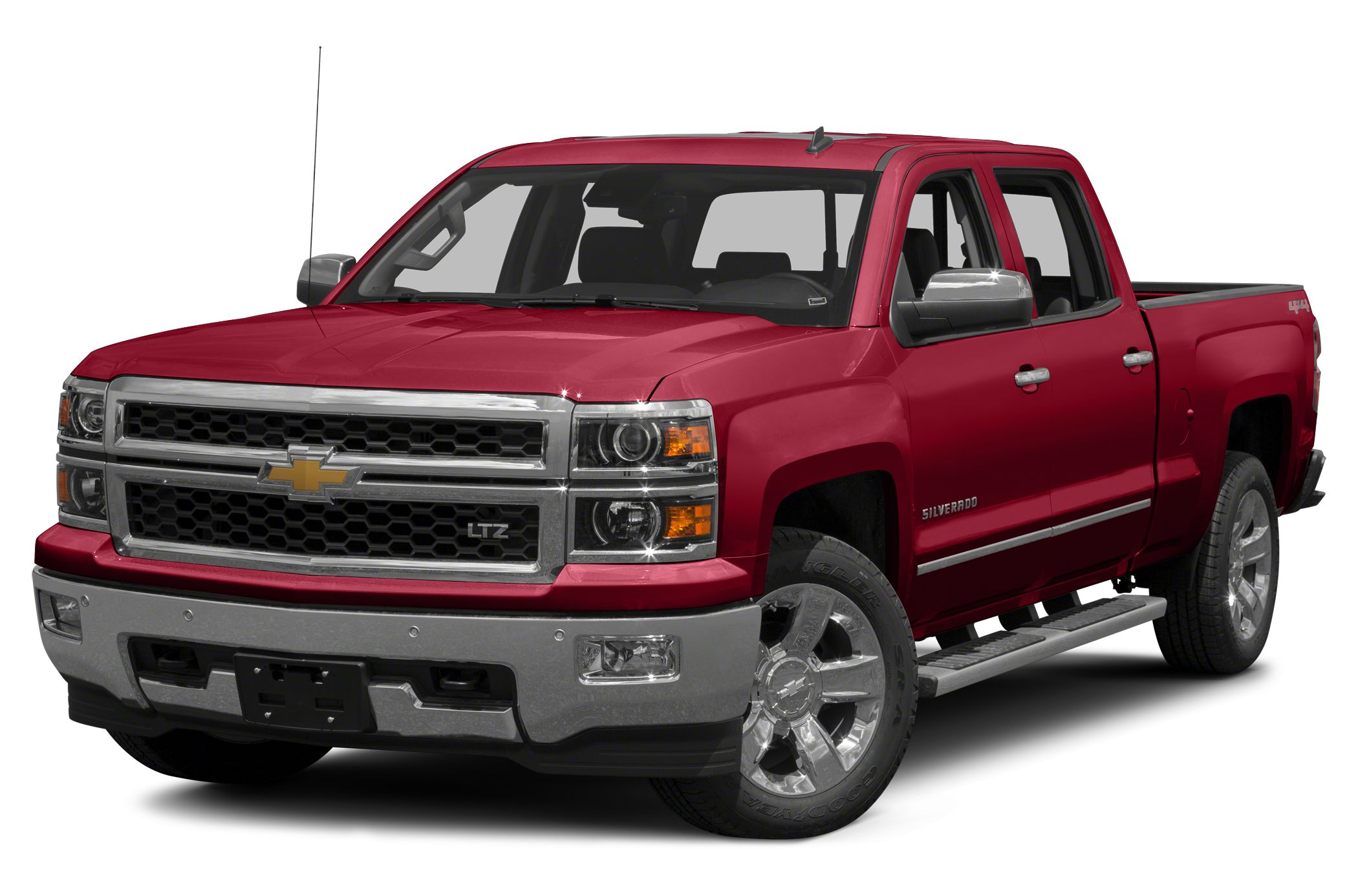 2014 Chevrolet Silverado 1500 LTZ Really  really nice LTZ crew cap pickup white with gray leathe