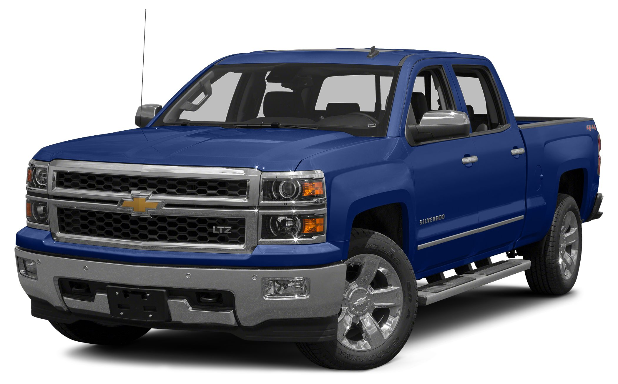 2015 Chevrolet Silverado 1500 1LZ EPA 21 MPG Hwy15 MPG City CARFAX 1-Owner Heated Leather Seats