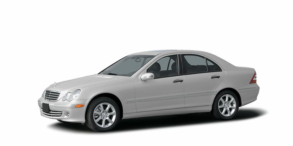 2006 MERCEDES C-Class C230 Sport ONLY 25K MILES C230 Sport 4D Sedan RWD and Silver So cle