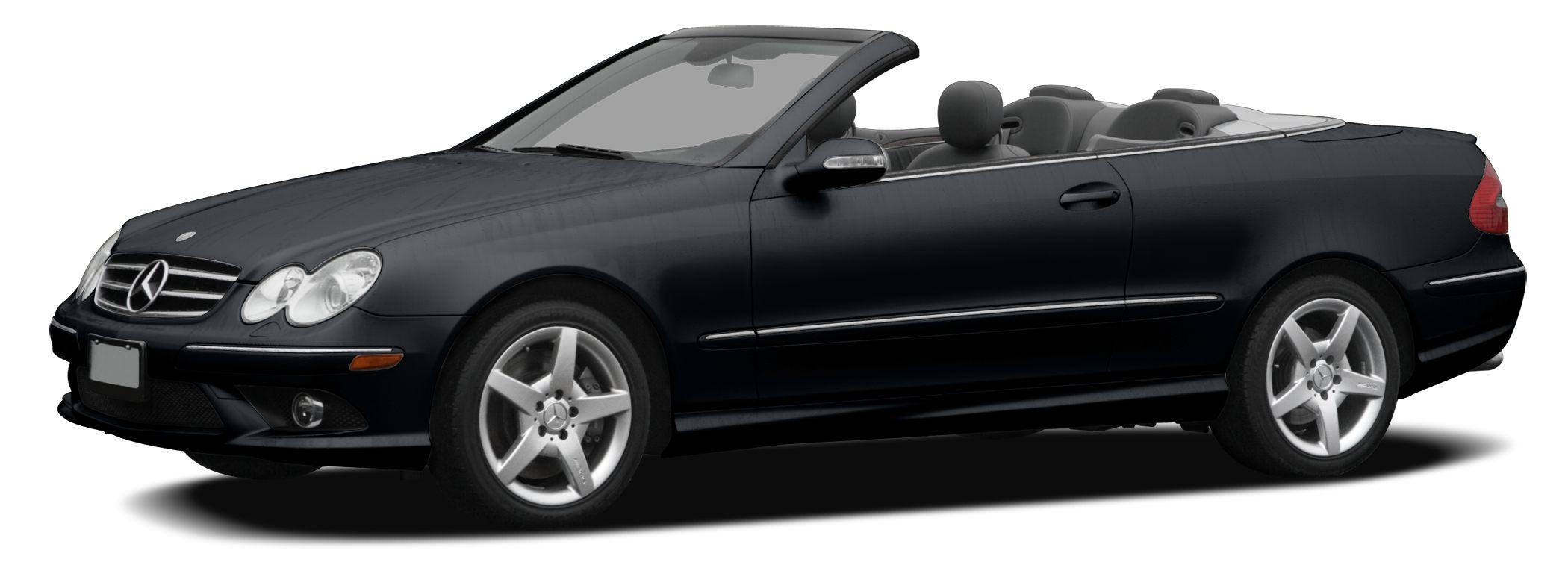 2006 MERCEDES CLK-Class CLK500 CLK500 2D Convertible 50L V8 SMPI SOHC 7-Speed Automatic Electr