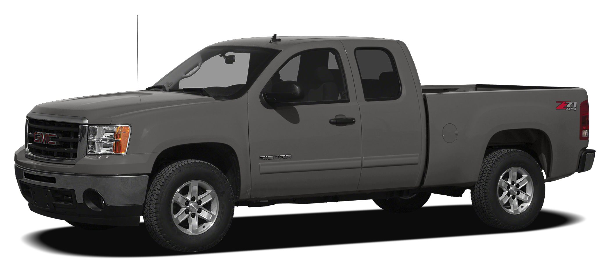 2012 GMC Sierra 1500 SLE ONE OWNER and LEATHER AND LIFT 6-Speed Automatic 4WD and Ebony Cloth