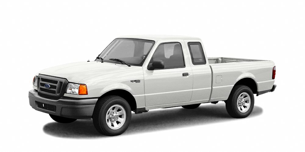 2005 Ford Ranger XL This White 2005 Ford Ranger XL might be just the extended cab pickup for you