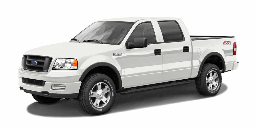 2005 Ford F-150  F-150 XLT 4D Crew Cab and 54L V8 EFI 24V What are you waiting for Isnt it