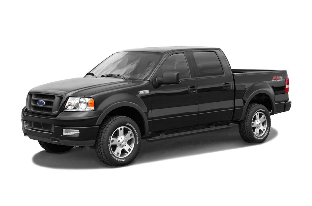 2005 Ford F-150 Lariat F-150 Lariat 4D Crew Cab 54L V8 EFI 24V 4-Speed Automatic with Overdriv