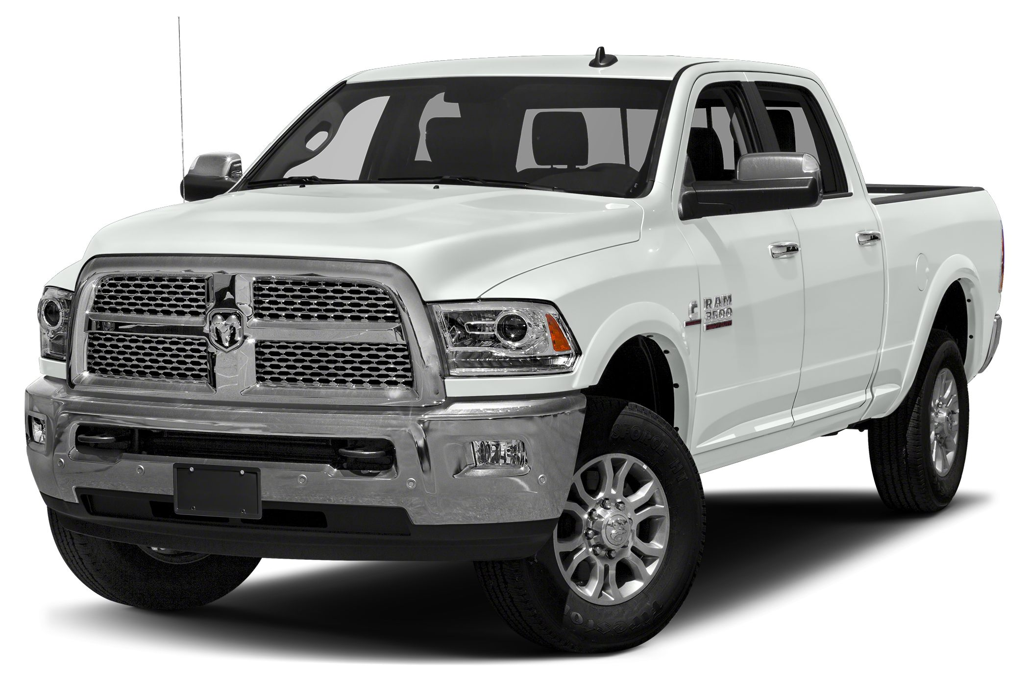 2018 RAM 3500 Laramie Bright White Clearcoat 2018 Ram 3500 Laramie 4WD 6-Speed Automatic Cummins 6