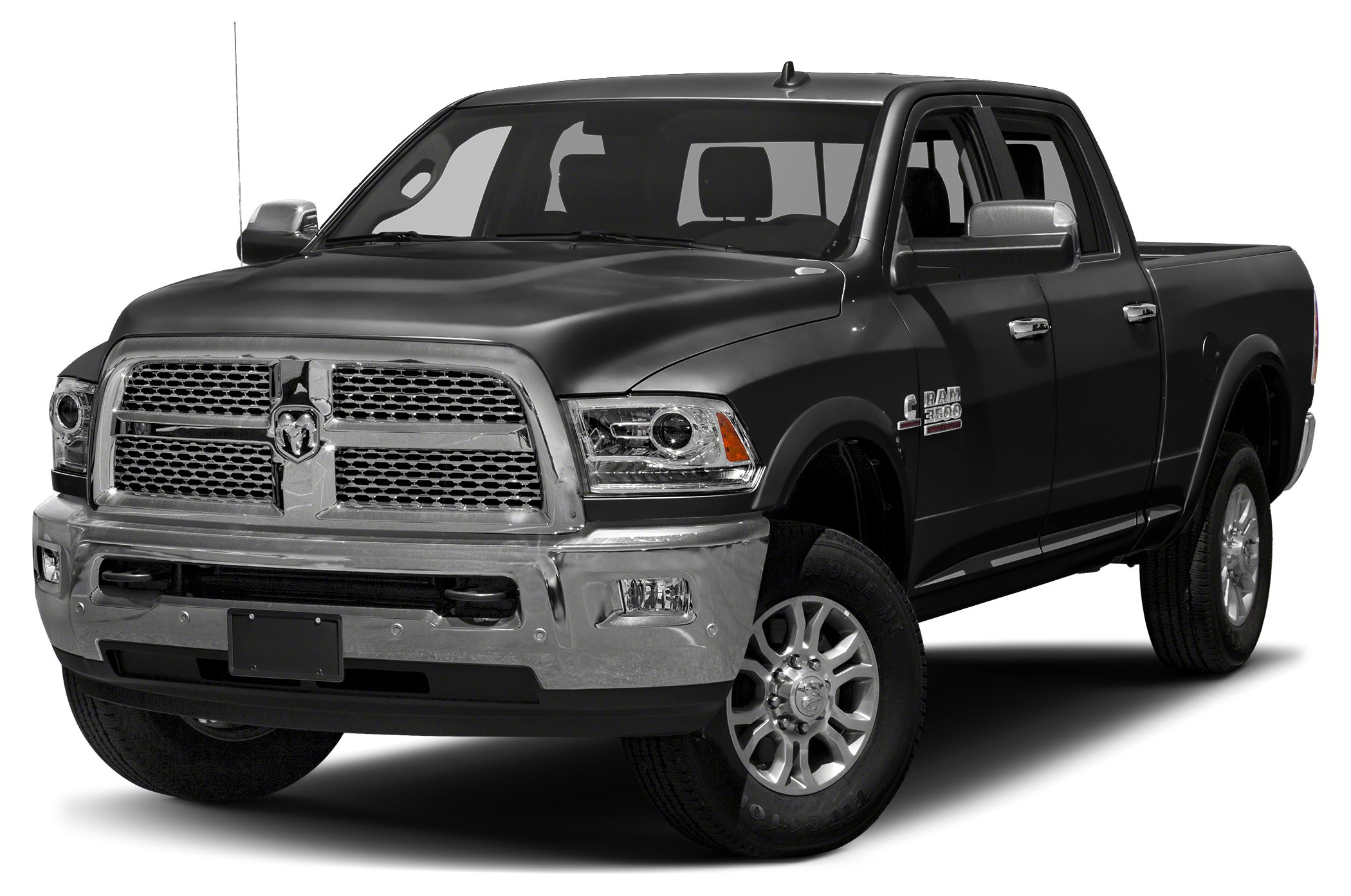 2017 RAM 3500 Laramie Nav System HeatedCooled Leather Seats SPRAY IN BEDLINER QUICK ORDER PACK