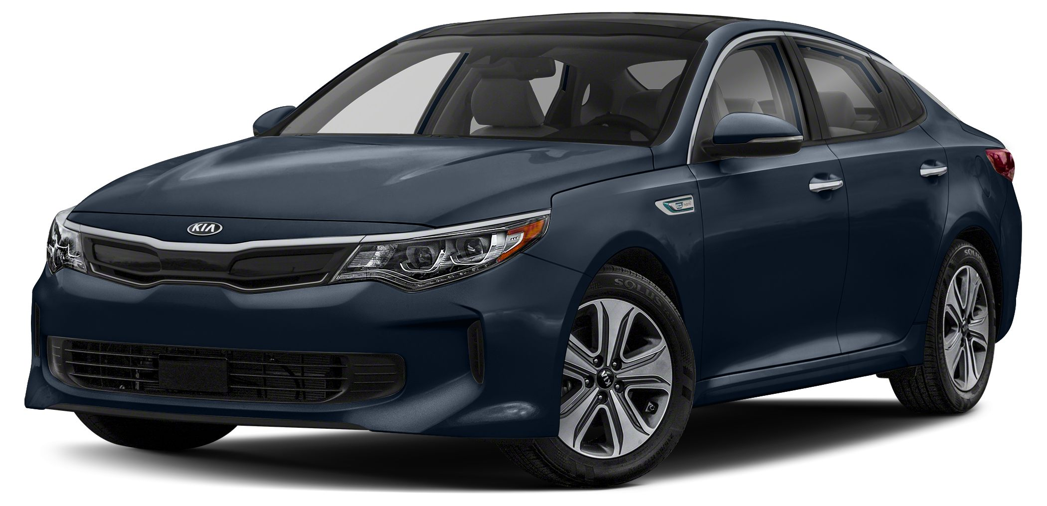 2018 Kia Optima Hybrid Premium Miles 14Color Gravity Blue Stock SB18385 VIN KNAGT4LE9J502313