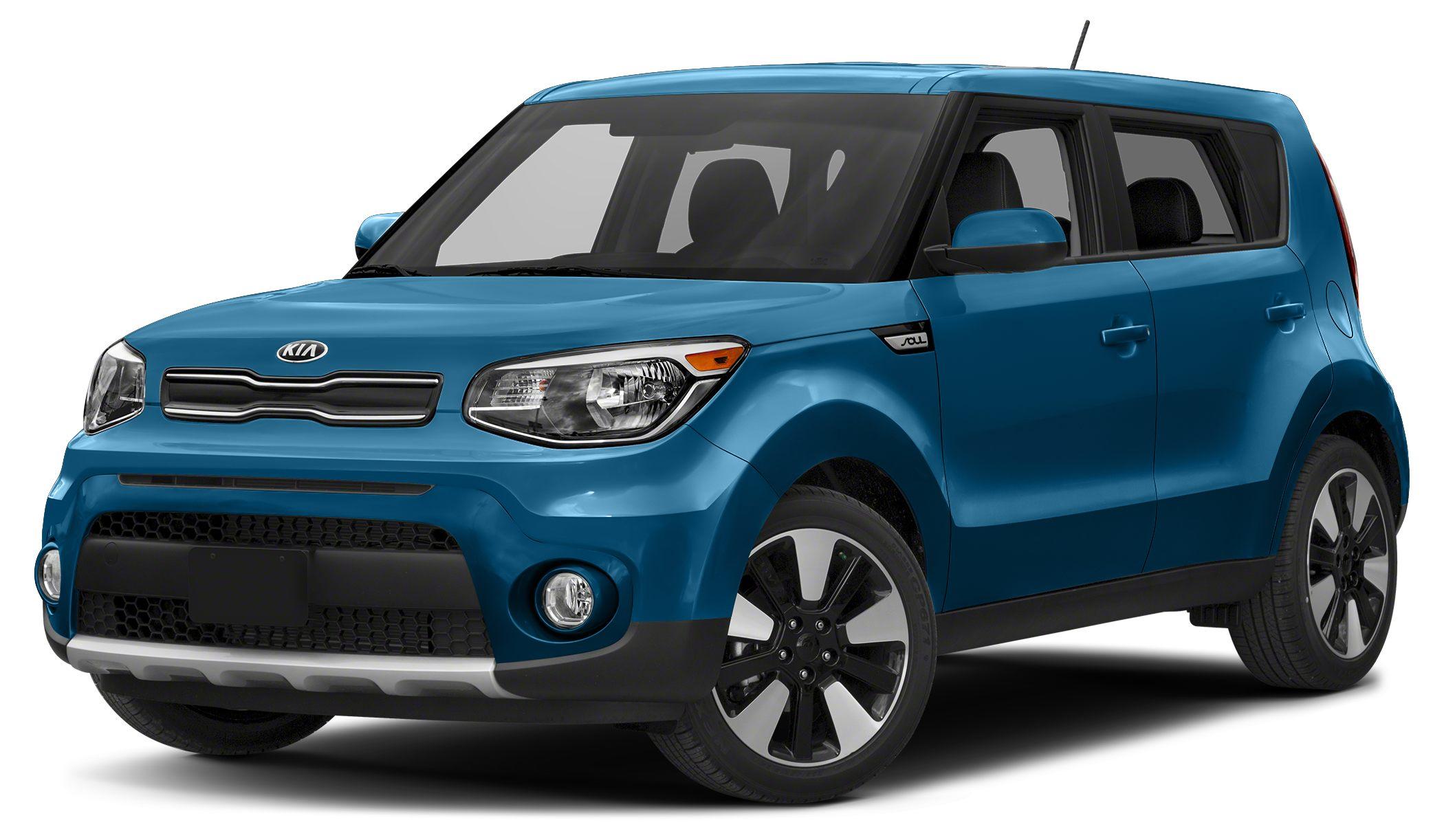 2017 Kia Soul  Miles 1360Color Carribean Blue Stock SB16410 VIN KNDJP3A55H7460270