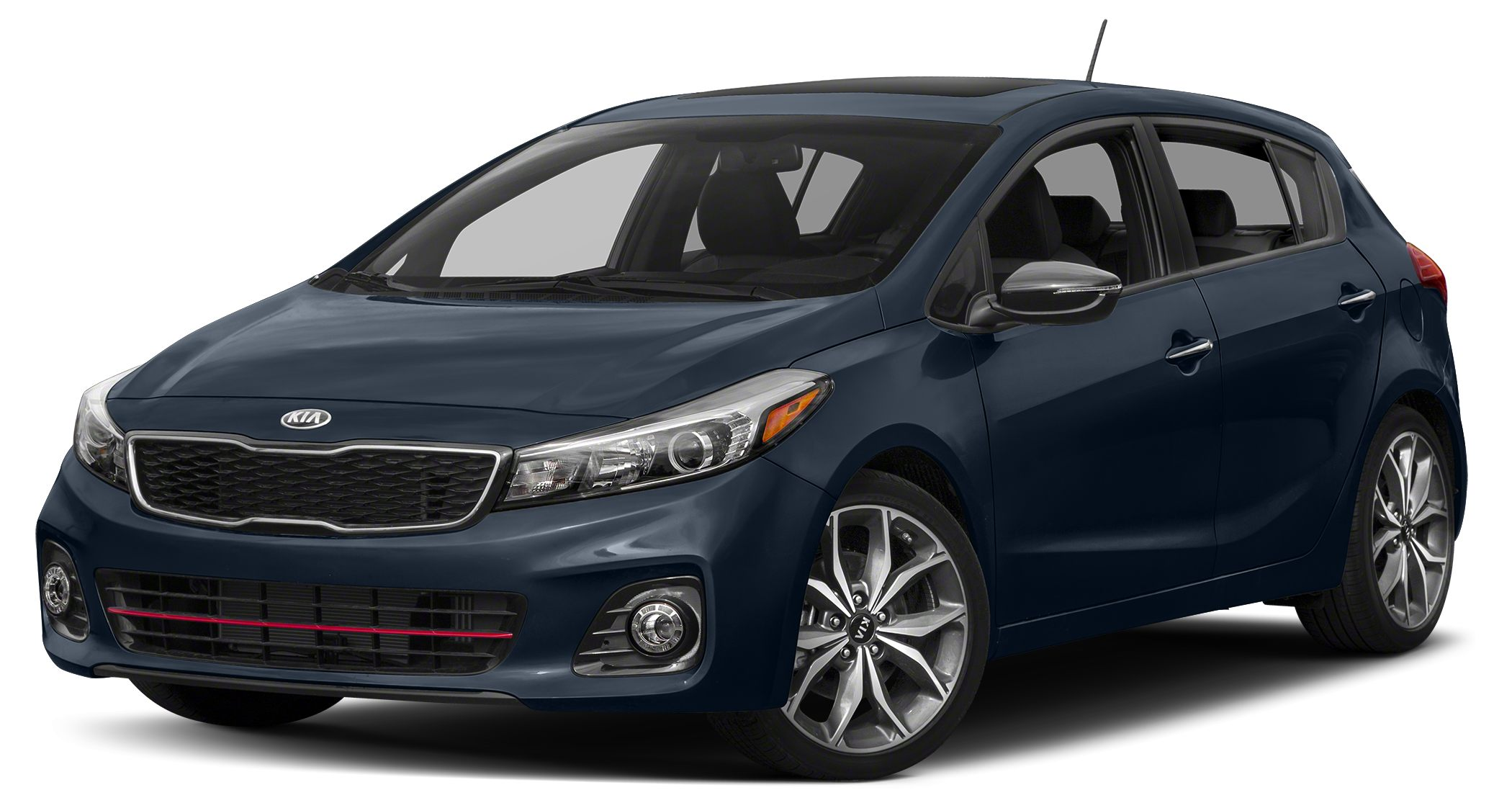 2017 Kia Forte LX Miles 10396Color Gravity Blue Stock SB16090 VIN KNAFK5A81H5680024