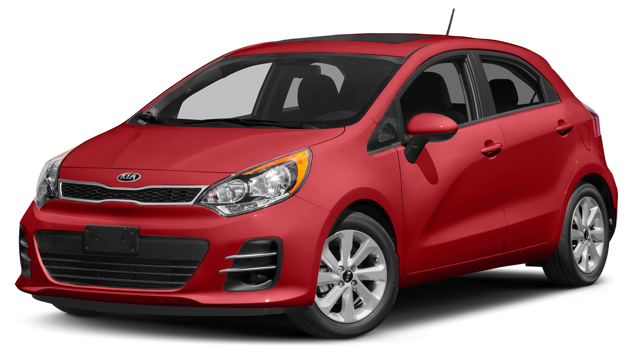 2017 Kia Rio LX Miles 915Color Red Stock SB16902 VIN KNADM5A30H6036935