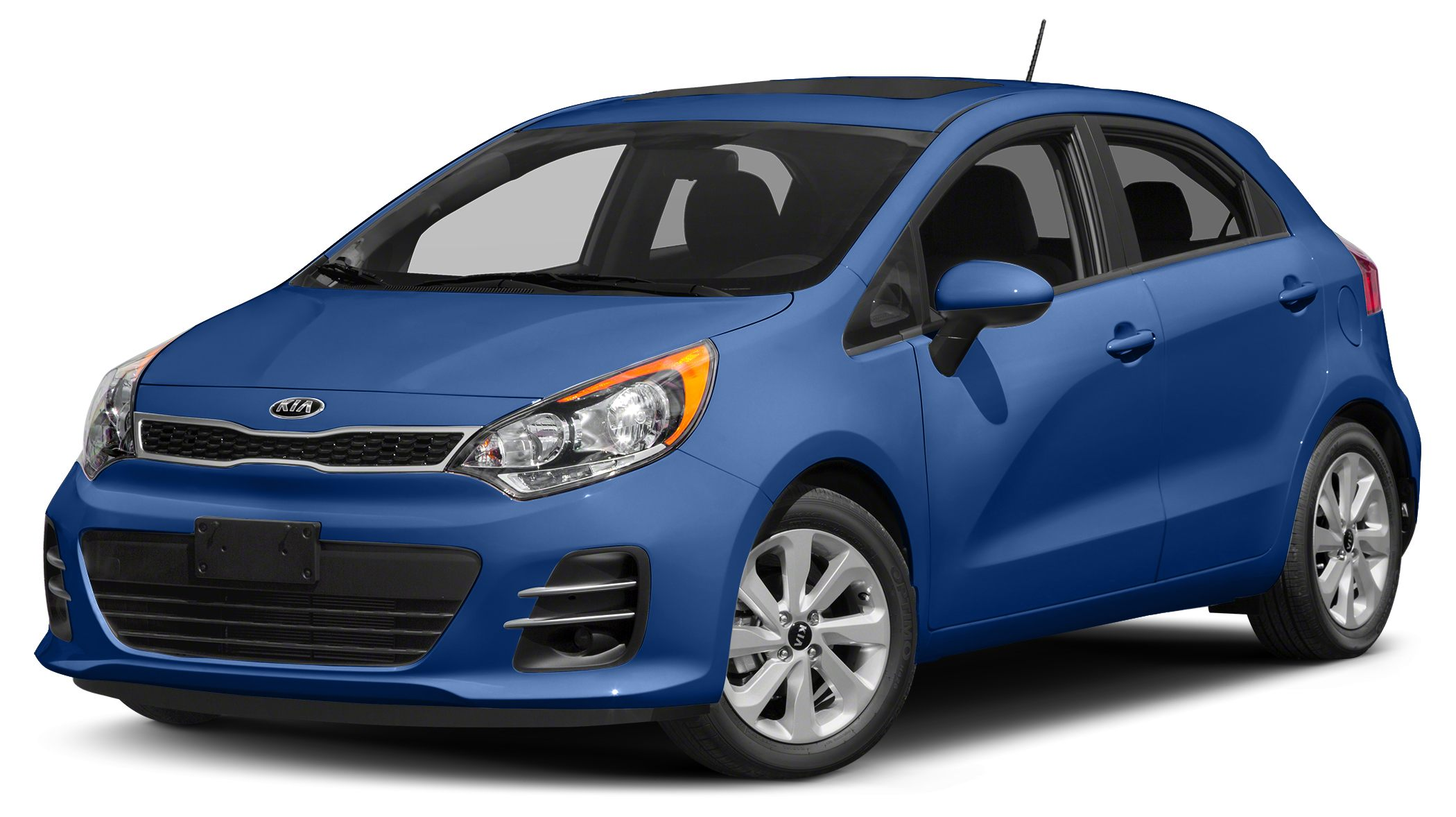 2017 Kia Rio EX Miles 21Color Urban Blue Stock SB16513 VIN KNADN5A38H6036548