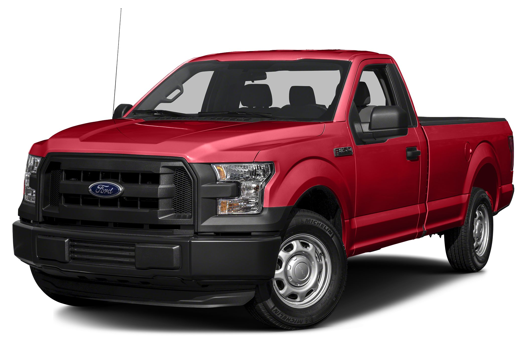 2017 Ford F-150 XL Miles 8Color Race Red Stock 171226 VIN 1FTMF1C84HKD06061