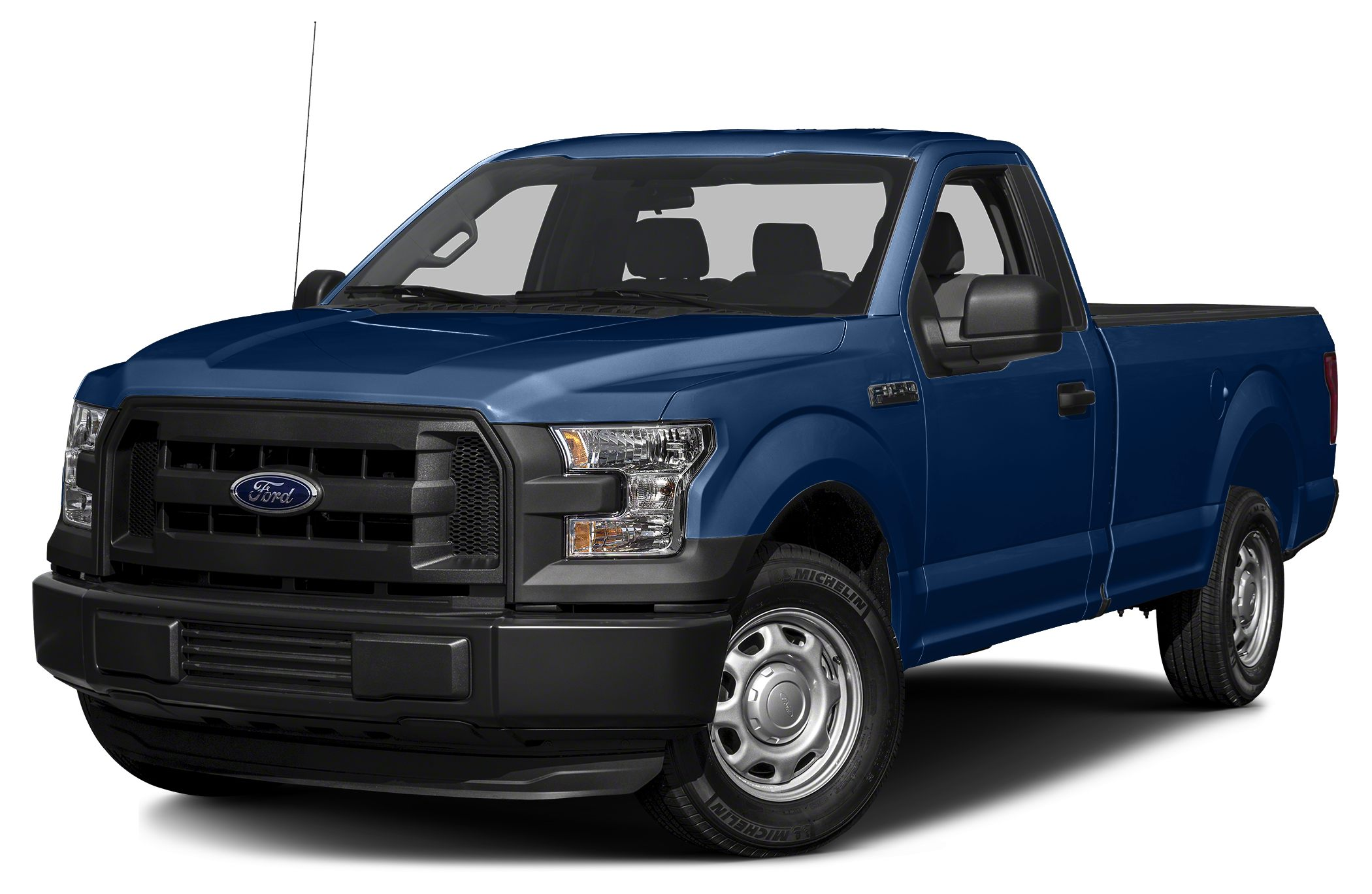 2017 Ford F-150 XL 2017 Ford F-150 XL 50L V8 FFV Body-Color Front  Rear Bumpers Box Side Decal