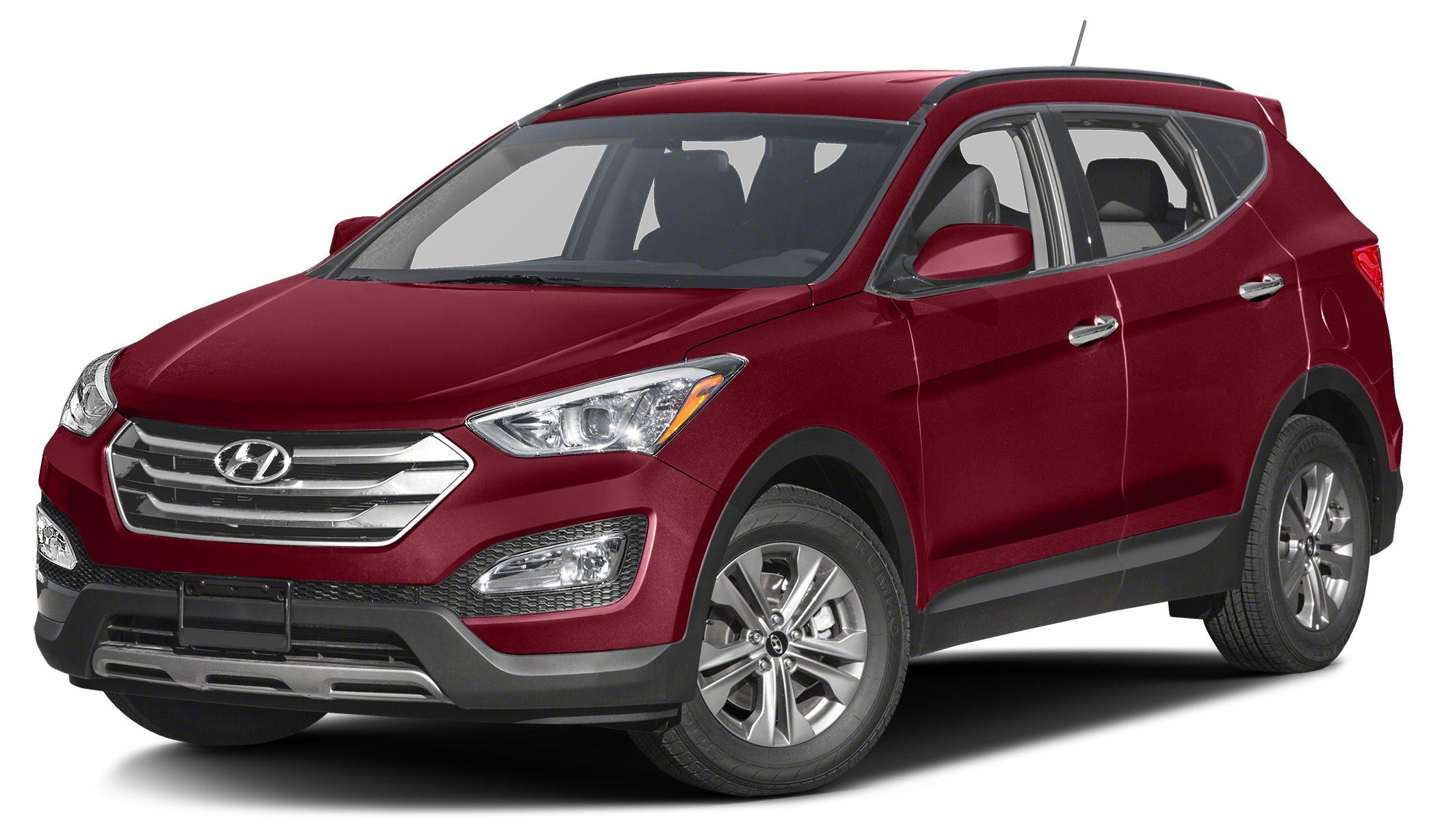 2016 Hyundai Santa Fe Sport 24 Miles 27701Color Serrano Red Stock JBE6219 VIN 5XYZT3LB1GG33
