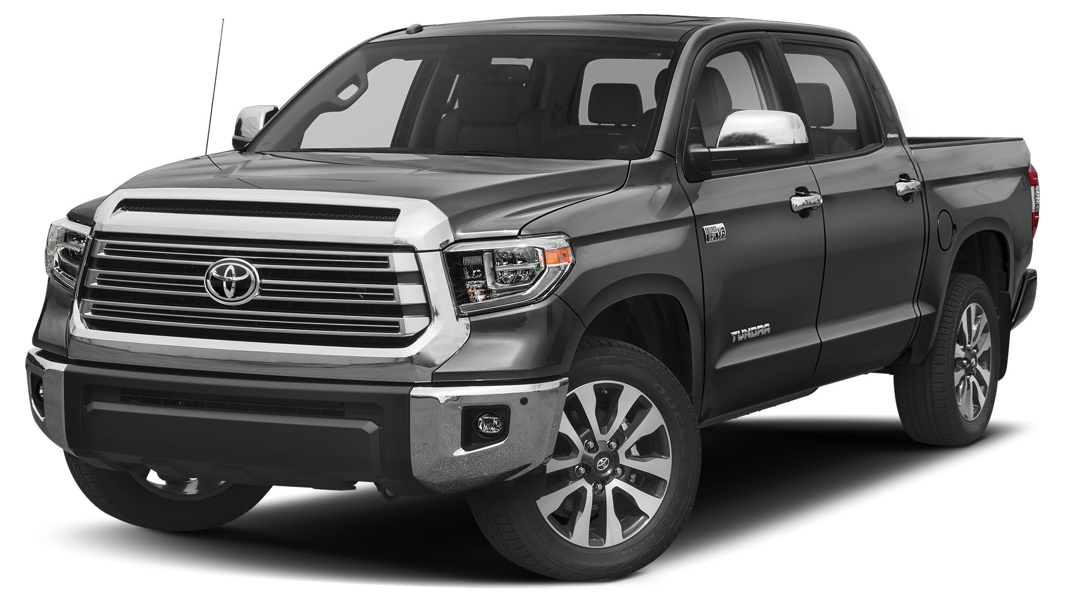 2018 Toyota Tundra SR5 SR5 trim MAGNETIC GRAY METALLIC exterior and GRAPHITE interior iPodMP3 I