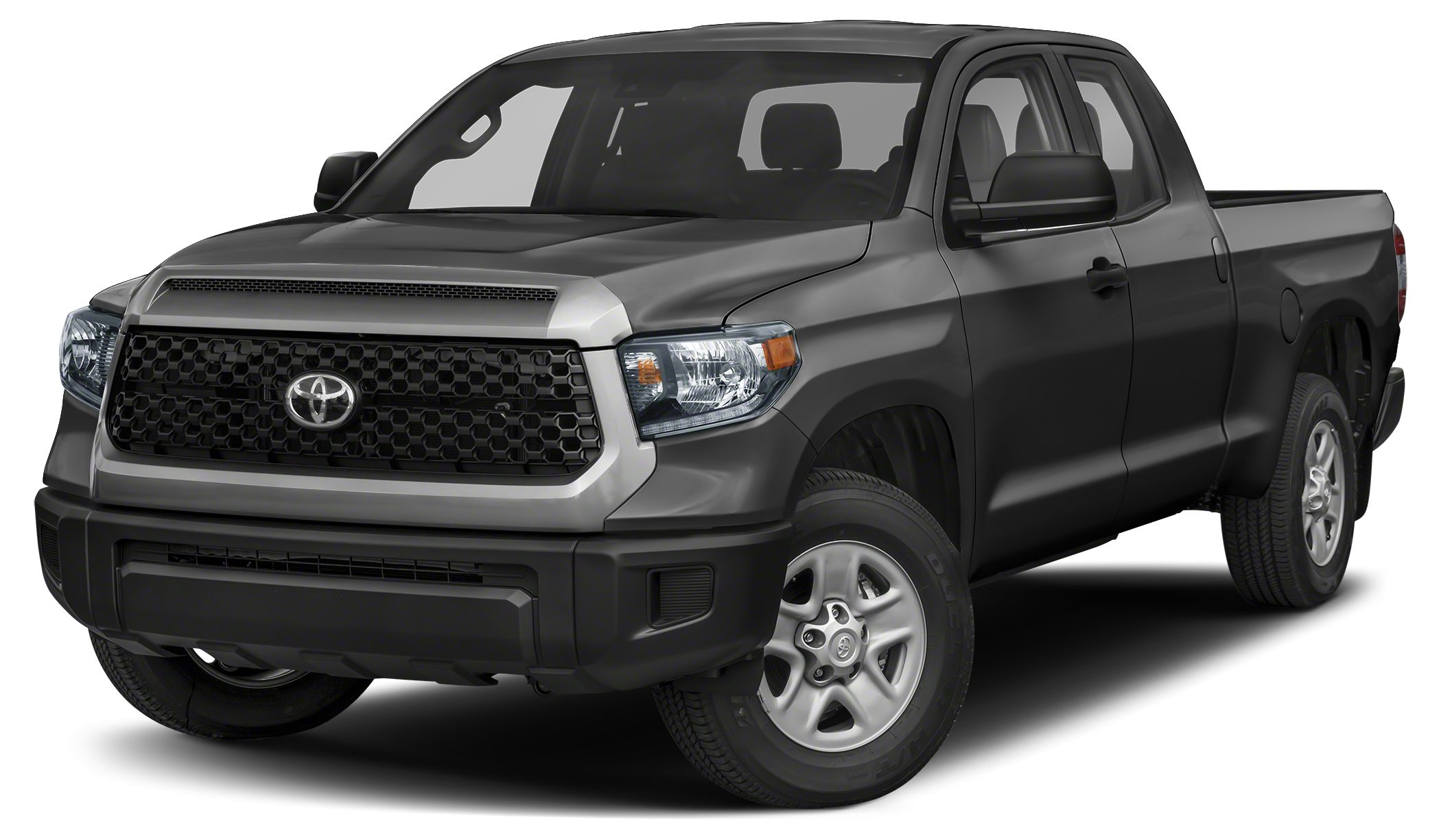 2018 Toyota Tundra SR5 SR5 trim MIDNIGHT BLACK METALLIC exterior and BLACK interior iPodMP3 Inp
