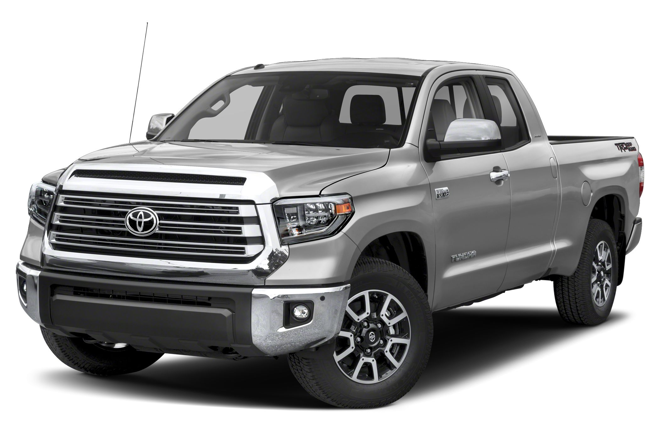 2018 Toyota Tundra Limited NAV Heated Leather Seats CD Player Bluetooth Connection Four Wheel