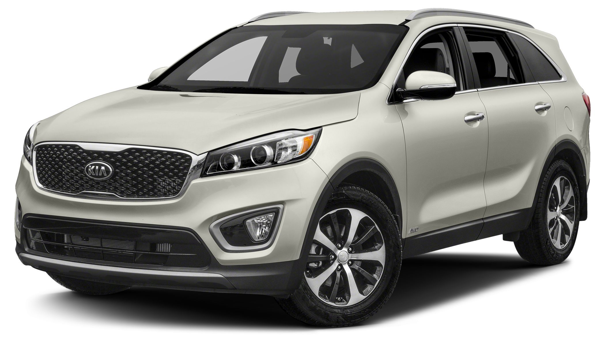 2016 Kia Sorento 33 EX Beige Heated Lumbar Leather Seats Power Seats 7 passenger 3rd row seatin