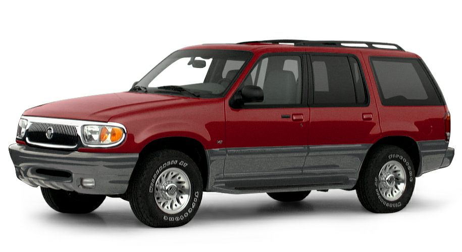 2000 Mercury Mountaineer Base Price does not include state and county taxes title and tag fees o