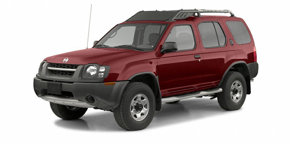 2003 Nissan Xterra XE Miles 160136Color Molten Lava Clearcoat Metallic Stock 8623A VIN 5N1ED