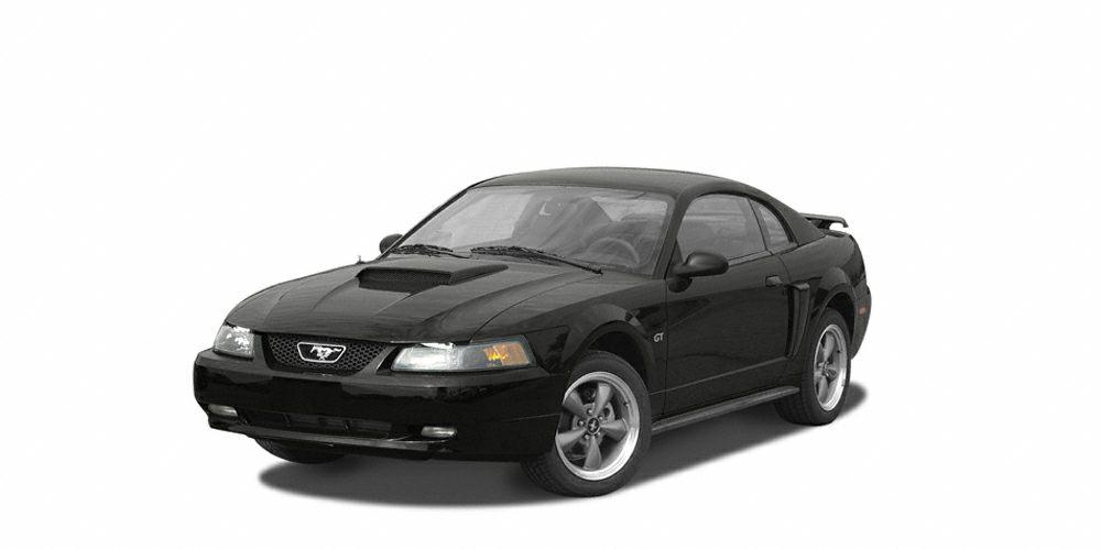 2004 Ford Mustang Base Miles 136480Color Black Stock CU345447B VIN 1FAFP40424F106359
