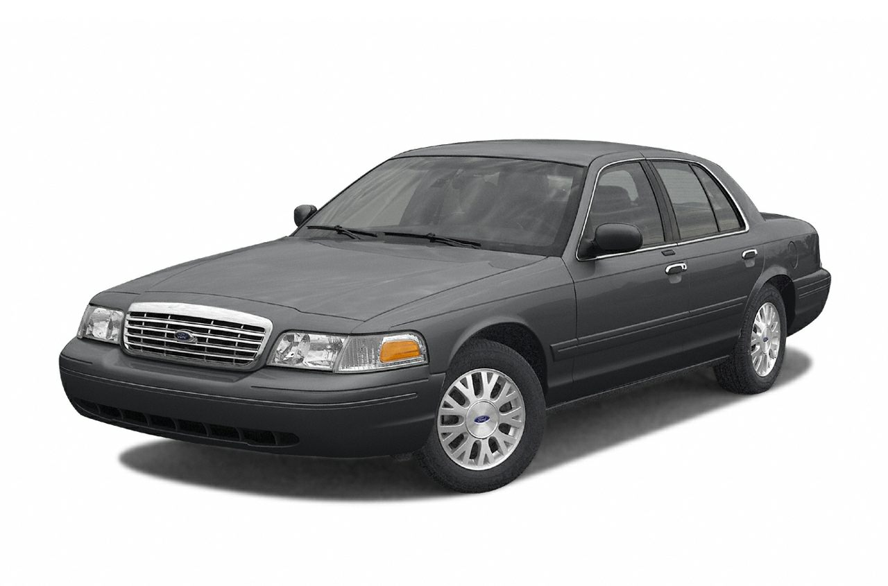2004 Ford Crown Victoria LX Miles 82902Color Gray Stock 16472A VIN 2FAFP74W54X153659