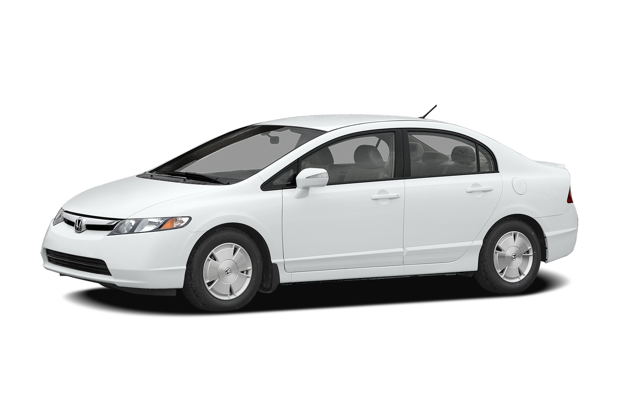 2006 Honda Civic Hybrid Base Miles 203698Color Taffeta White Stock 023643 VIN JHMFA36256S023