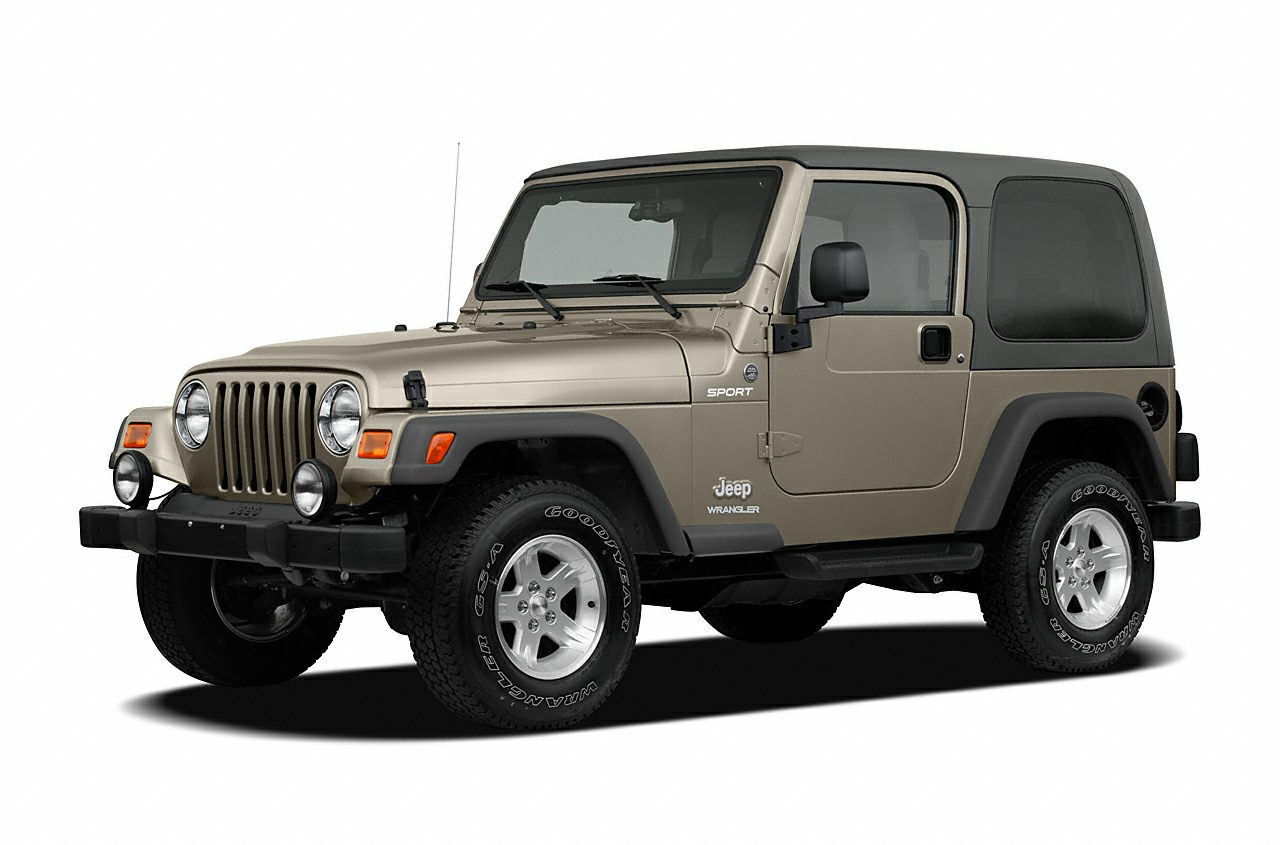 2006 Jeep Wrangler SE INCREDIBLE CONDITION JUST TRADED 4X4 AND AIR 45 POINT INSPECTION  60