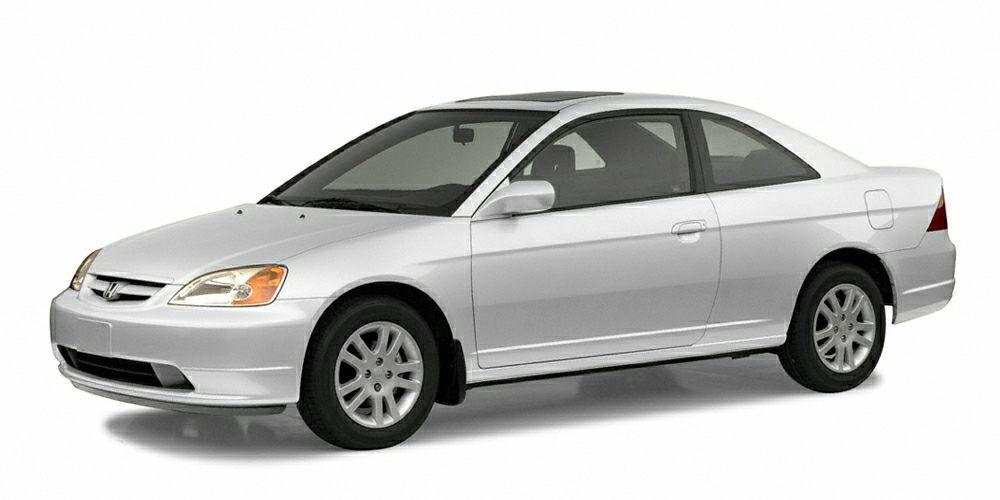 2002 Honda Civic LX Miles 187171Color White Stock N3153A VIN 1HGEM22552L097617