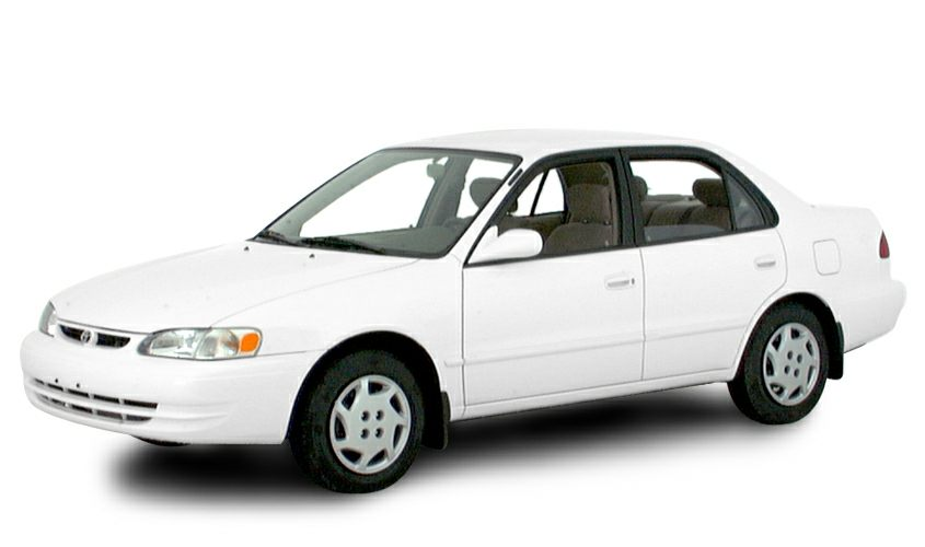 2000 Toyota Corolla LE Other features include 18 L liter inline 4 cylinder DOHC engine with vari