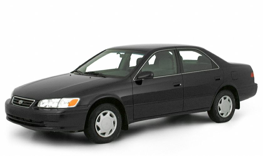2000 Toyota Camry CE CARFAX 1-Owner ONLY 68995 Miles CE trim ANTIQUE SAGE PEARL exterior and D