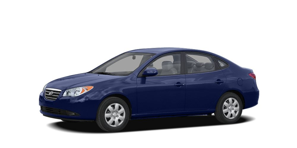 2009 Hyundai Elantra GLS FREE FIRST YEAR MAINTENANCE and NO ACCIDENT HISTORY ON CARFAX 4 Sp
