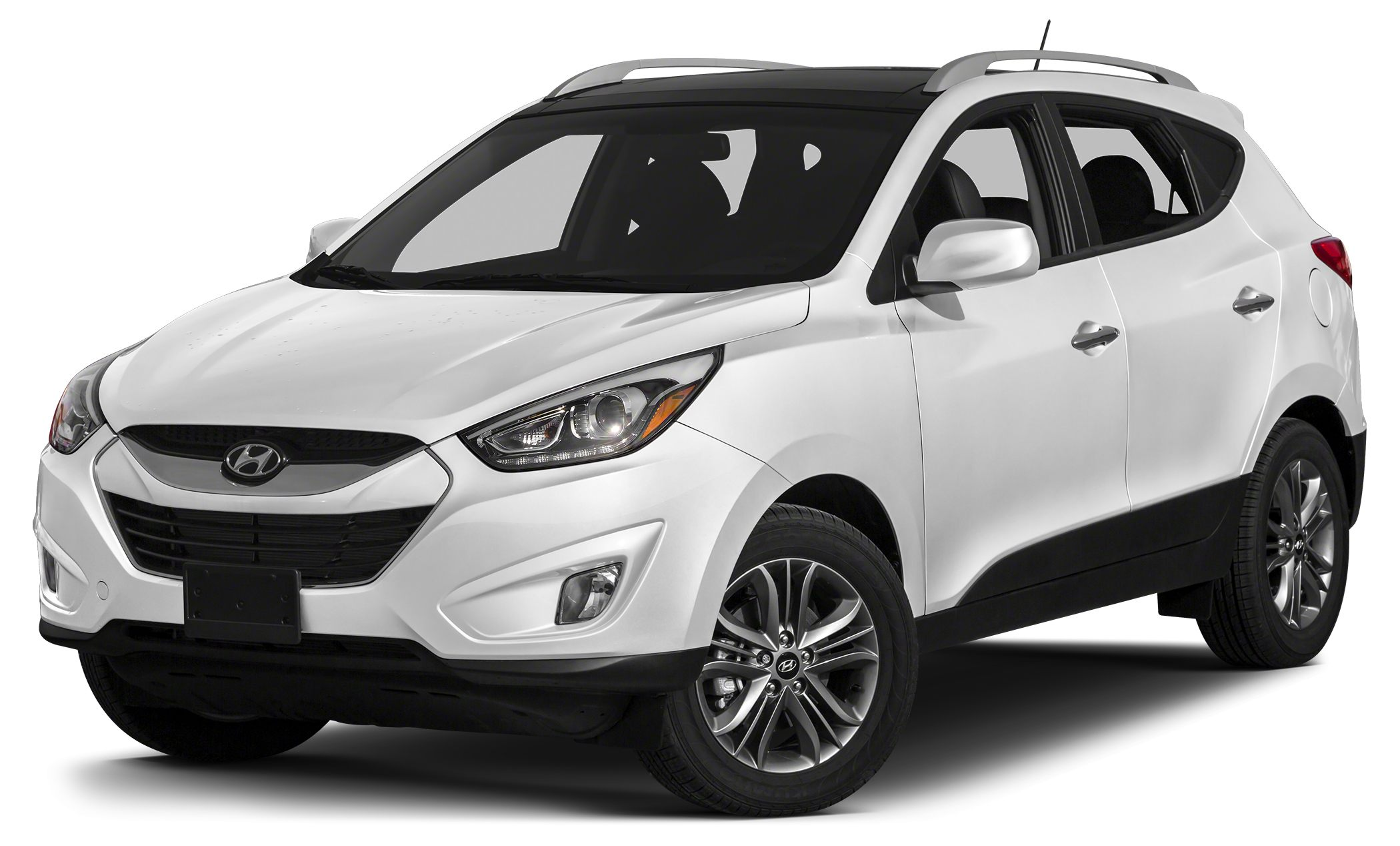 2014 Hyundai Tucson Limited Miles 4982Color Winter White Stock 15K588A VIN KM8JUCAG7EU872029