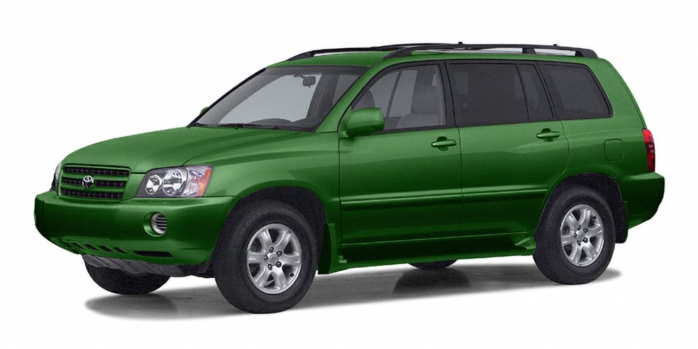 2002 Toyota Highlander Limited This model has many valuable options -Auto Climate Control -Fog Lig