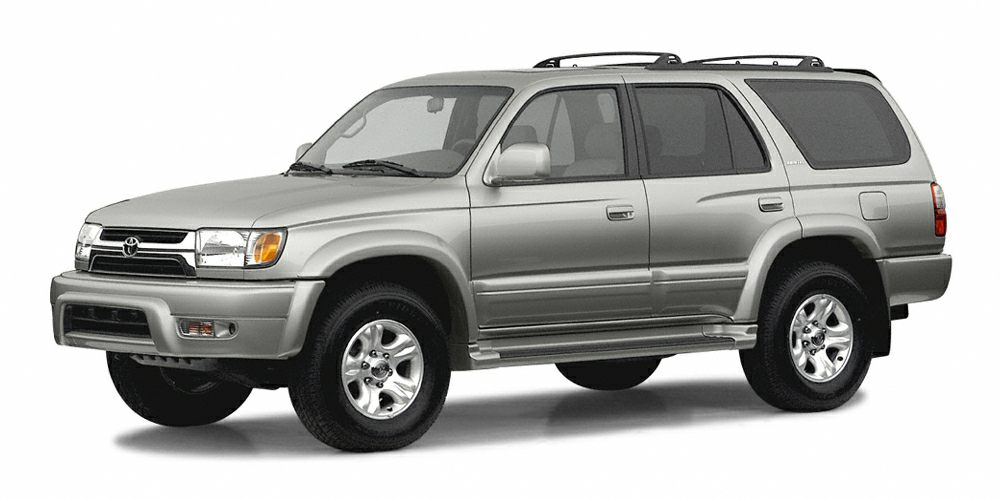 2002 Toyota 4Runner SR5 BLUE TAG SPECIAL 5 DAY 300 MILE EXCHANGERETURN POLICY  VALUE PRICED FO